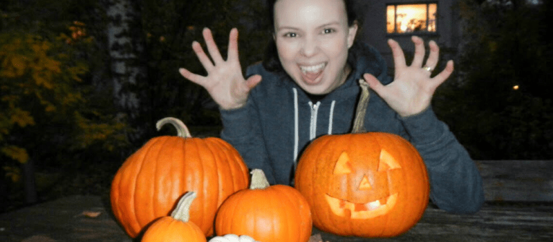 Halloween – Pumpkin Picking in Finland