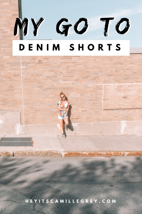 My Go To Denim Shorts | Weekly Obsession - Hey It's Camille Grey