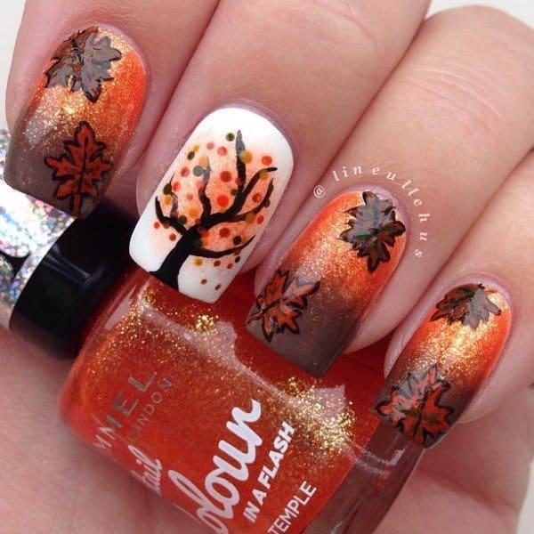 LOVE or LEAVE this Fall Nail Art \u2013 Heyit\u0027sCarlyRae!
