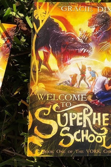 Welcome to Superhero School