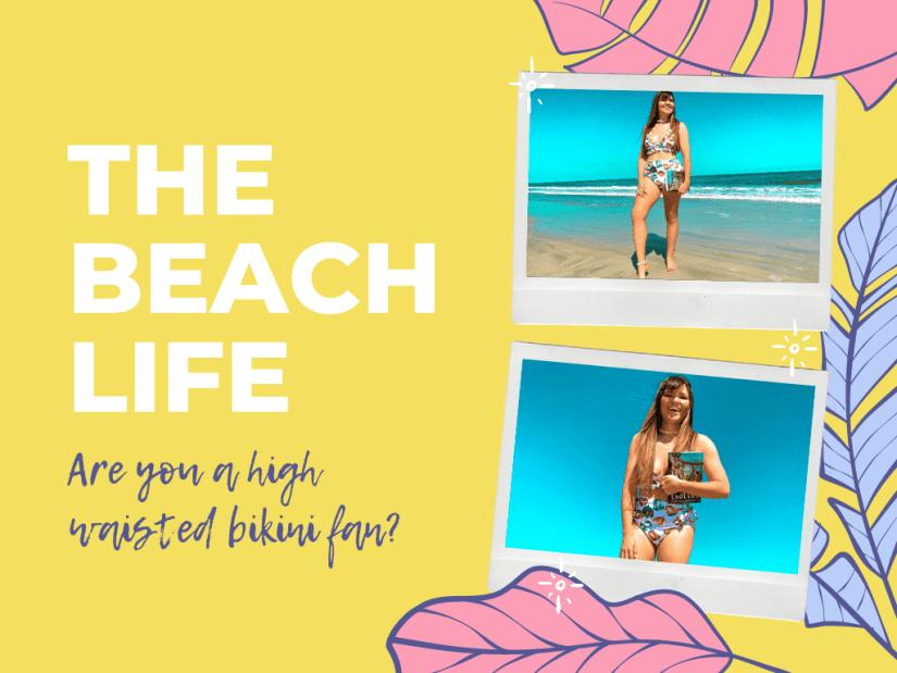 Highwaist ruffle bikini