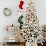 My Blush Pink Flocked Christmas Tree Decor Heyitsrubee