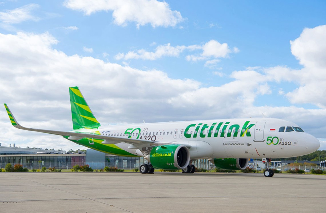 Citilink is now flying their Airbus A330neo to Perth and Melbourne, Australia