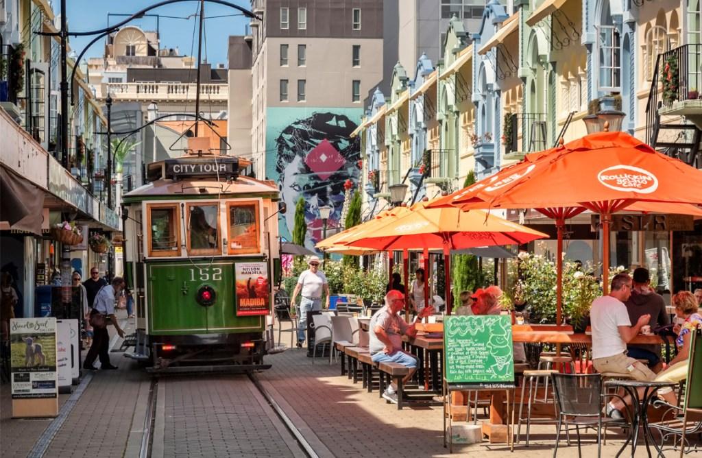 Regent Street, Christchurch | Heritage Tram Tour in Christchurch | What to do in Christchurch | 48 Hours in Christchurch, New Zealand