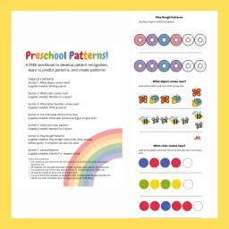 Image describing preschool patterns