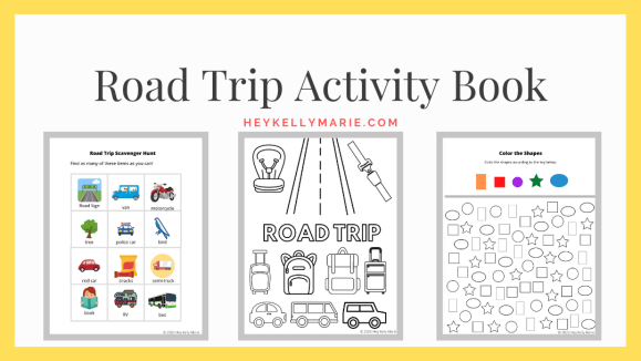 preview of image displayed on printable resources page where readers download road trip activity book