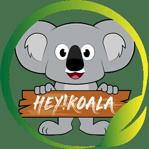 Hey Koala Logo