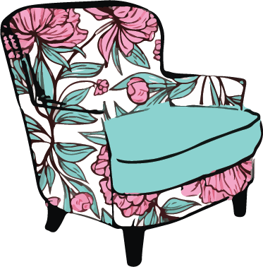 Upset Upholstery - Full page designs on Etsy @LadyLeyDesigns
