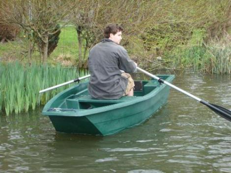 Heyland Sturdy 250 Rowing Boat1