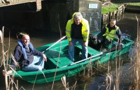 Heyland Sturdy 400 Rowing Boat2