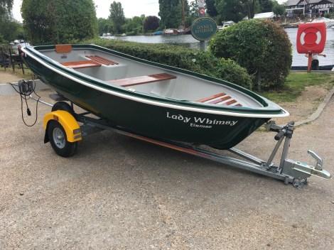 Heyland Swan Rowing Boat12