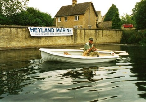 Heyland Trout Rowing Boat