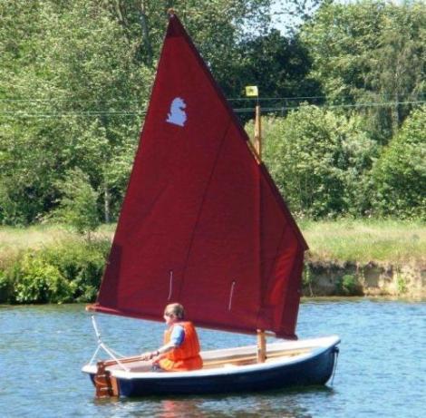 Heyland Lugger Sailing Boat5