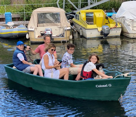 Heyland Kingfisher 380 Hire Boat6