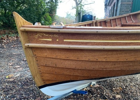 Traditional Wooden Clinker Rowing Boa10