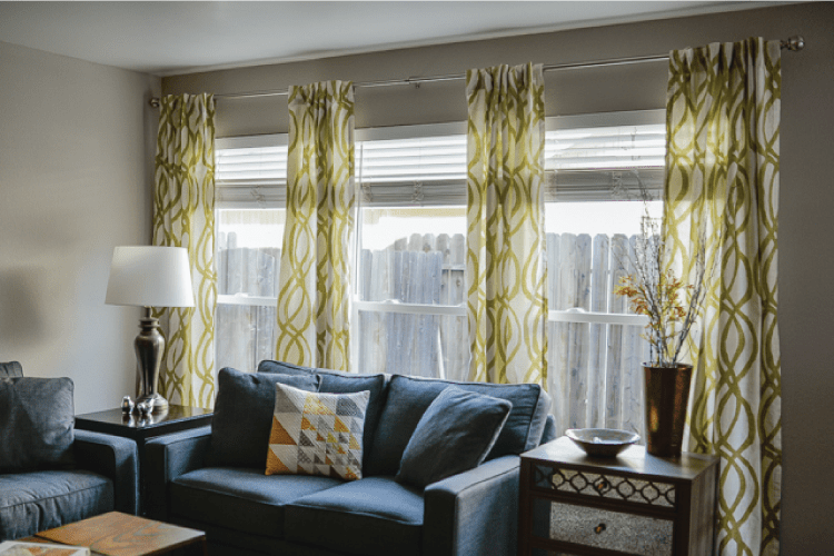 how to hang curtains a quick tutorial