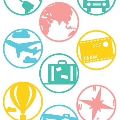 Around the World Pennants