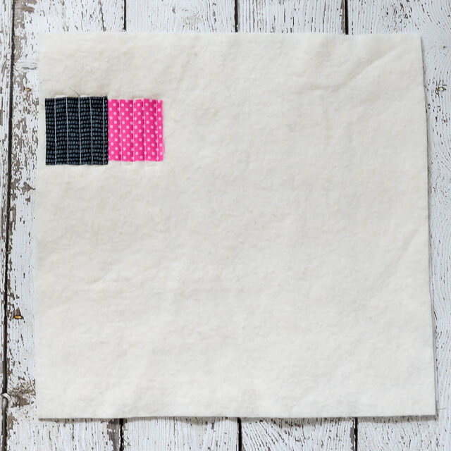 Quilt-As-You-Go is way more versatile than you might think! Here's how to make a Scottish Thistle block. Check out this series to see other ways you can use the QAYG method.
