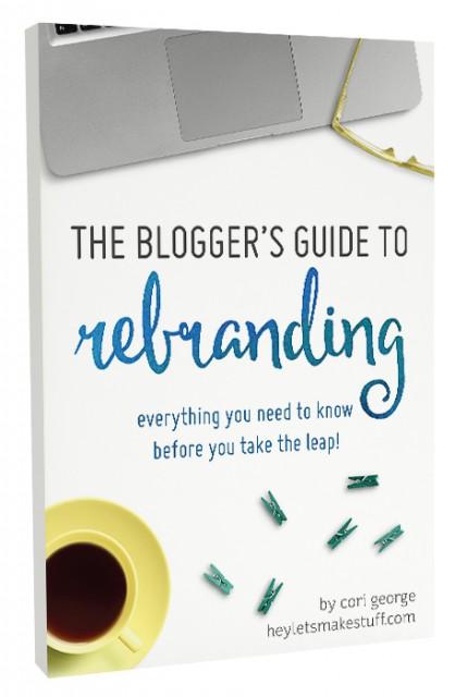 bloggers guide to rebranding e-book