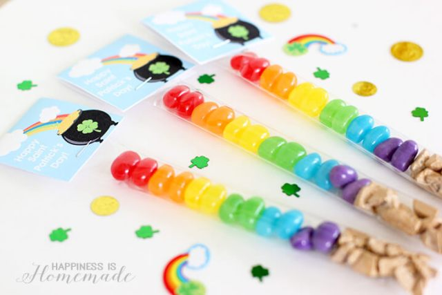 Rainbow Candy Treats from Happiness is Homemade