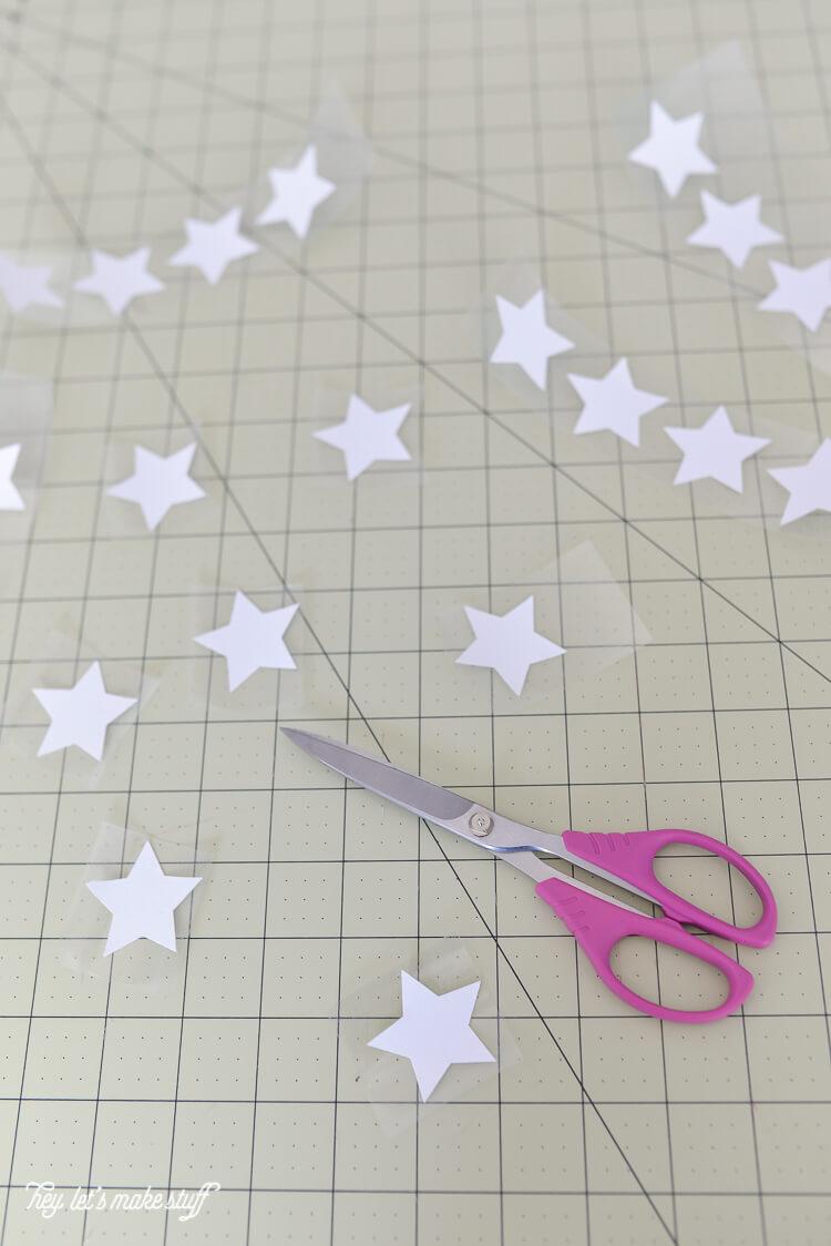 stars fabric for cape