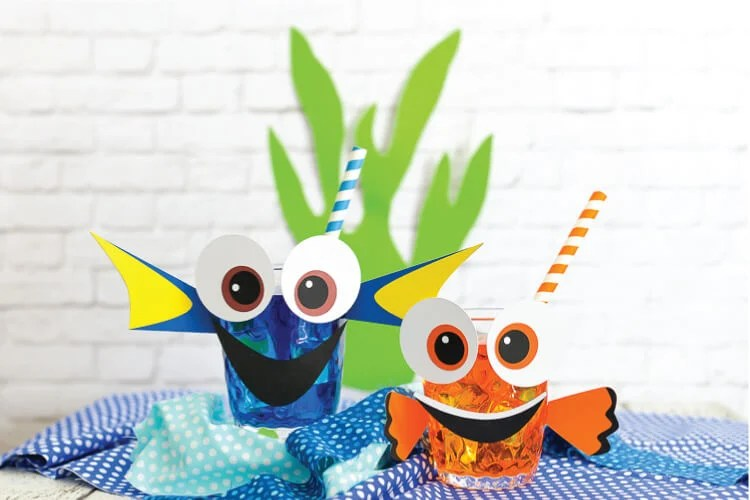 Dory & Nemo themed party cups