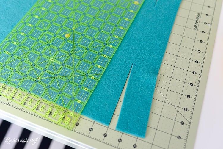 cutting fabric for crib rails