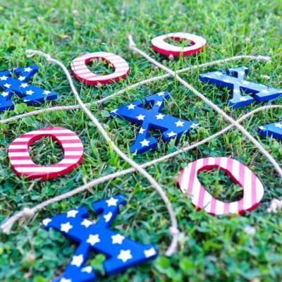 4th of July Tic Tac Toe