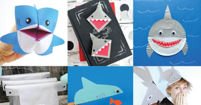 Shark Week Shark Crafts Hey Let S Make Stuff