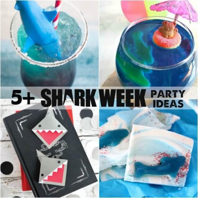 Fun ideas for SHARK WEEK!