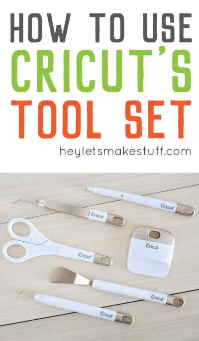 The tools in the Cricut Tool Set have so much functionality, but what do the tools actually do?! I mean, do you REALLY need a dental pick? (Answer: yes you do!)