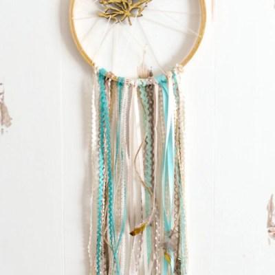 Whimsical DIY Dream Catcher