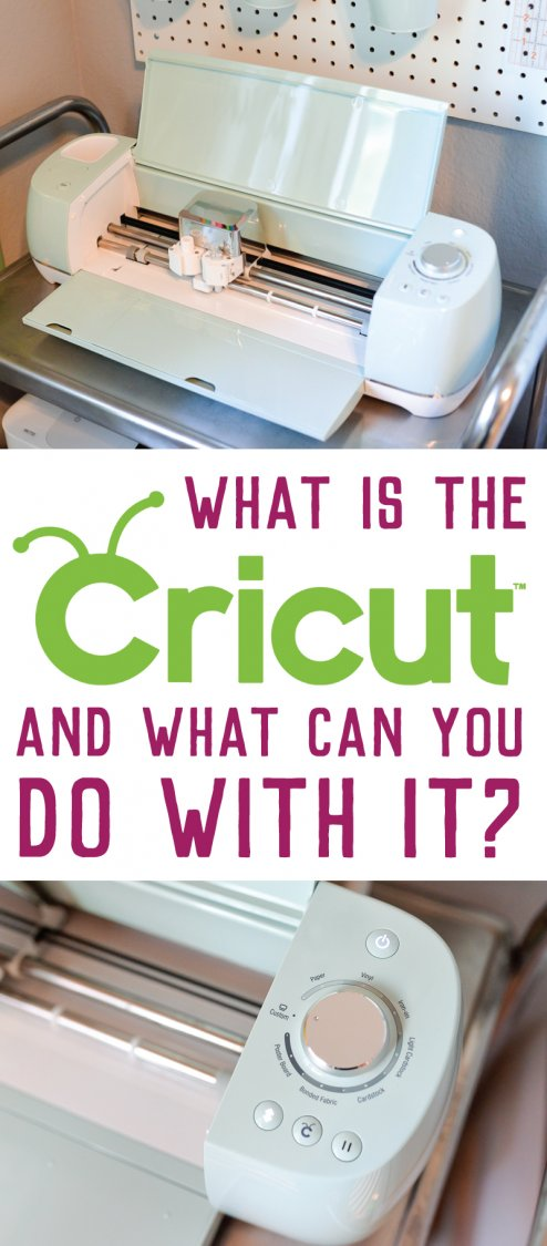 What is the Cricut Explore machine and what does it do pin image