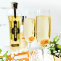 This elderflower champagne cocktail is perfect for Valentine's Day, New Year's Eve, or any time you want to celebrate with an effervescent and aromatic drink.