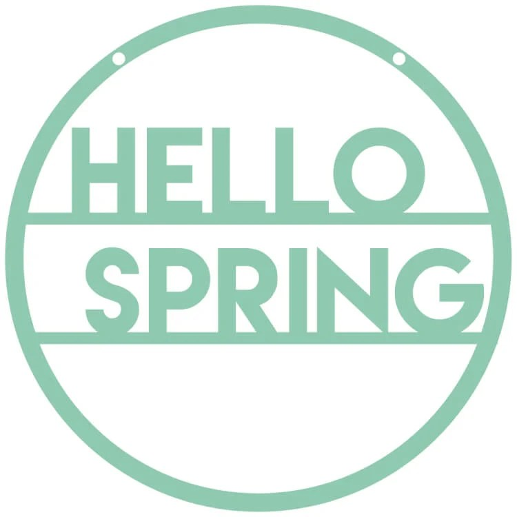 Download Hello Spring Pennants - Hey, Let's Make Stuff