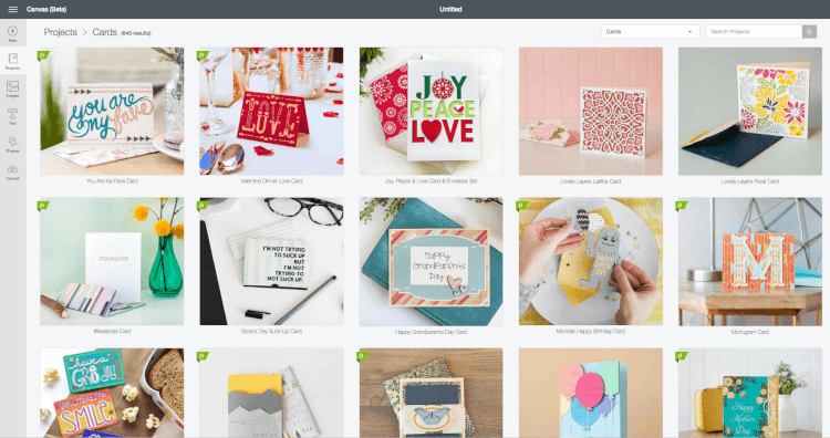 Cricut's Make It Now projects allow you to create a beautiful project from start to finish without any design skills. Choose a project and go straight to cutting it out on your Cricut Explore.