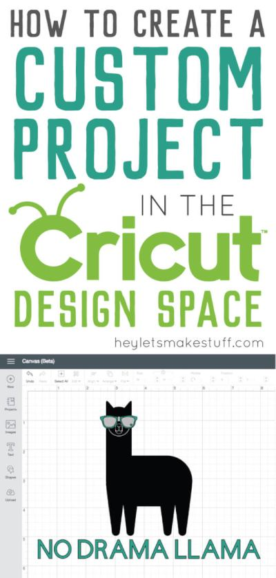 If you're new to the Cricut, here are a few helpful tips and tricks for creating your own custom project in the Cricut Design Space.