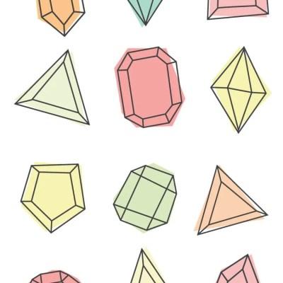 Free Gem Clip Art + Printables