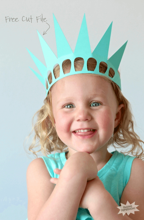 Paging Super Mom - Easy Statue of Liberty Crown
