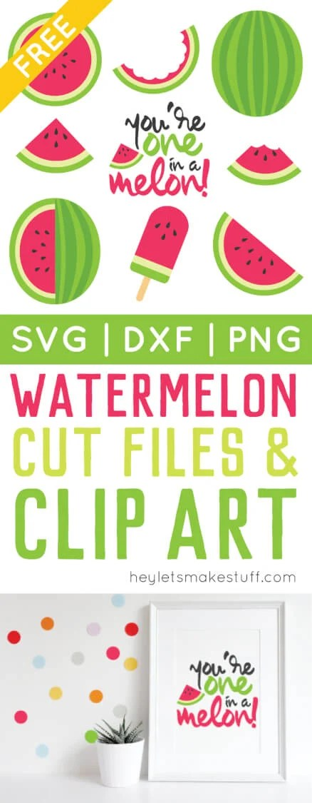 Celebrate the deliciousness of summer with free watermelon cut files and PNG clip art! Nine yummy designs for all of your summer projects.
