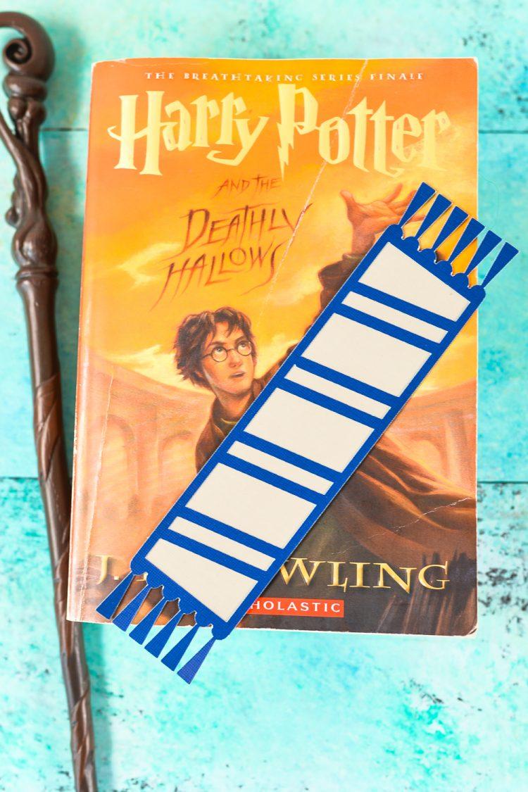 Hogwarts house bookmarks - Ravenclaw bookmark