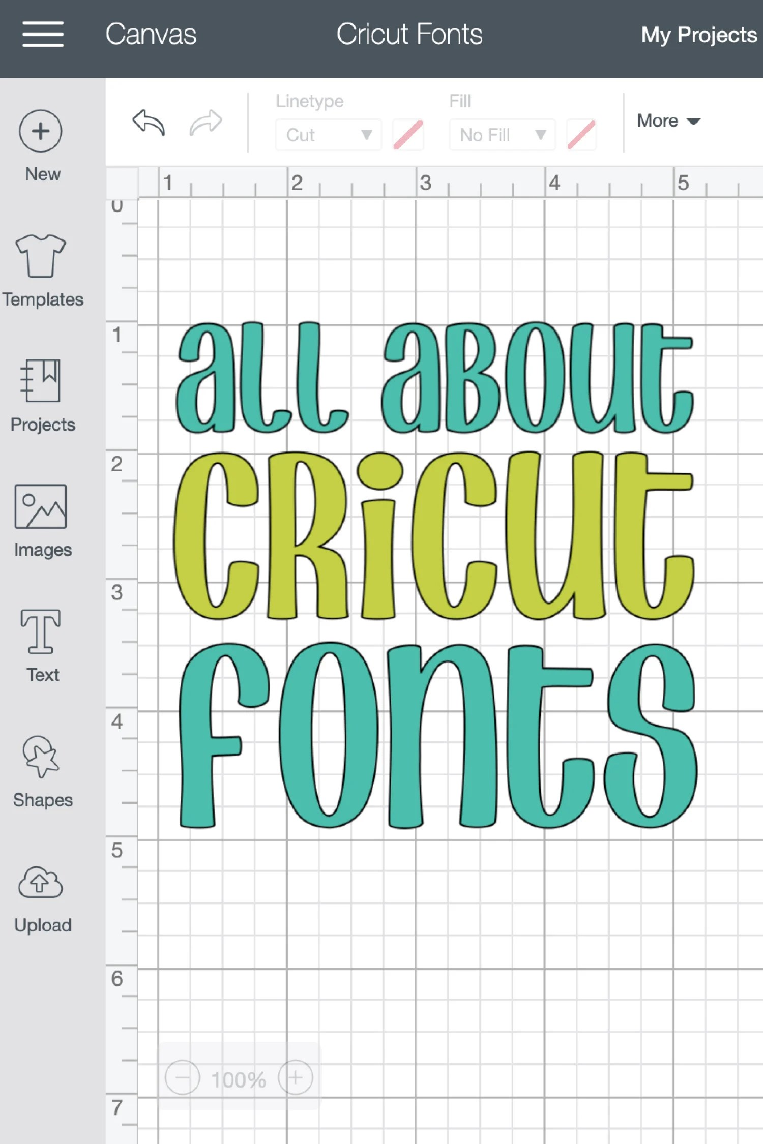 Fonts in Cricut Design Space are not as straightforward as you'd think! Why are your letters all spaced out? Why are all your letters cutting separately? Check out these font basics in the Cricut Design Space!
