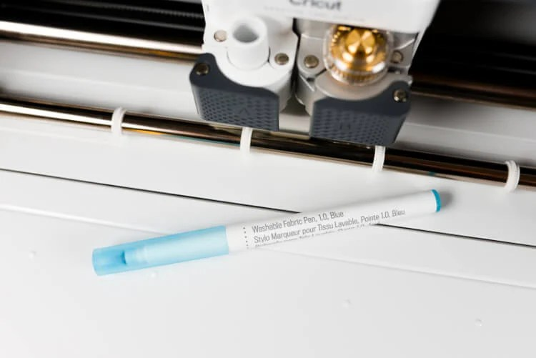 The Cricut Maker takes sewing to a new level by cutting fabric and marking patterns for you! Use the Cricut Fabric Pen to draw pattern instructions in minutes to create fabric crafts, clothing, and so much more.