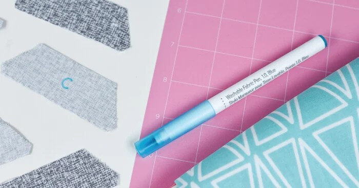 How to Use the Cricut Fabric Pen - Hey, Let's Make Stuff