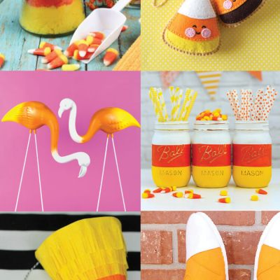 15+ Creative Candy Corn Crafts