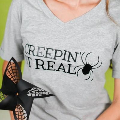Creepin' It Real Halloween T-Shirt Decal