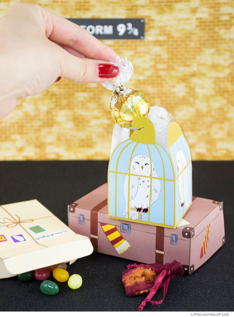 Harry Potter Gift Boxes - Little Luxuries Loft