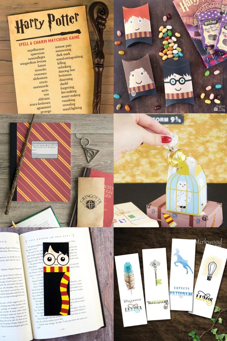 graphic regarding Free Printable Harry Potter Birthday Cards named Magical Harry Potter Printables - Video games, Get together, Decor