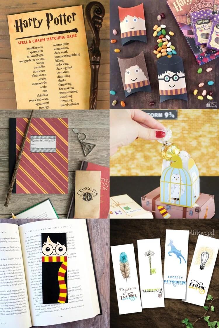 graphic regarding Harry Potter Potion Book Printable identify Magical Harry Potter Printables - Online games, Celebration, Decor
