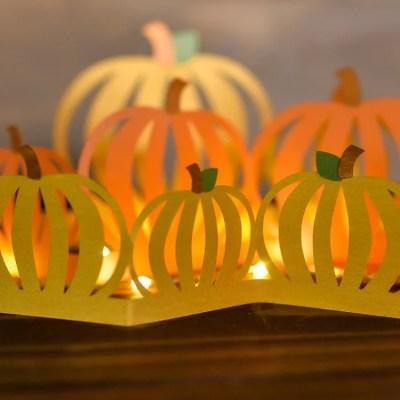 Fall Decorating Idea: Pumpkin Luminaria